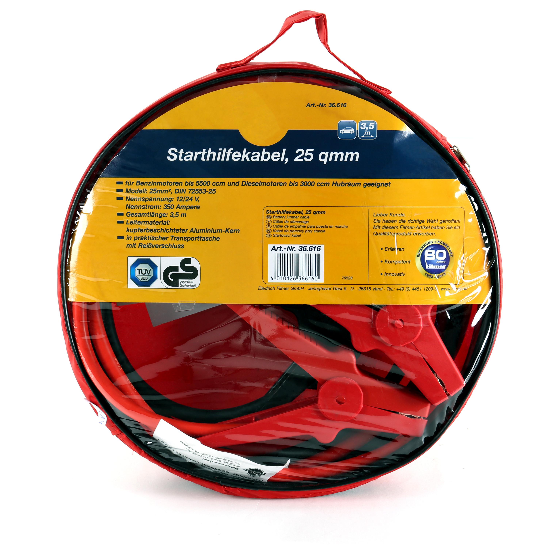 Kabel Verbindung Batterie Starthilfekabel 1200/AMP Auto Wohnwagen Lkw Motorrad