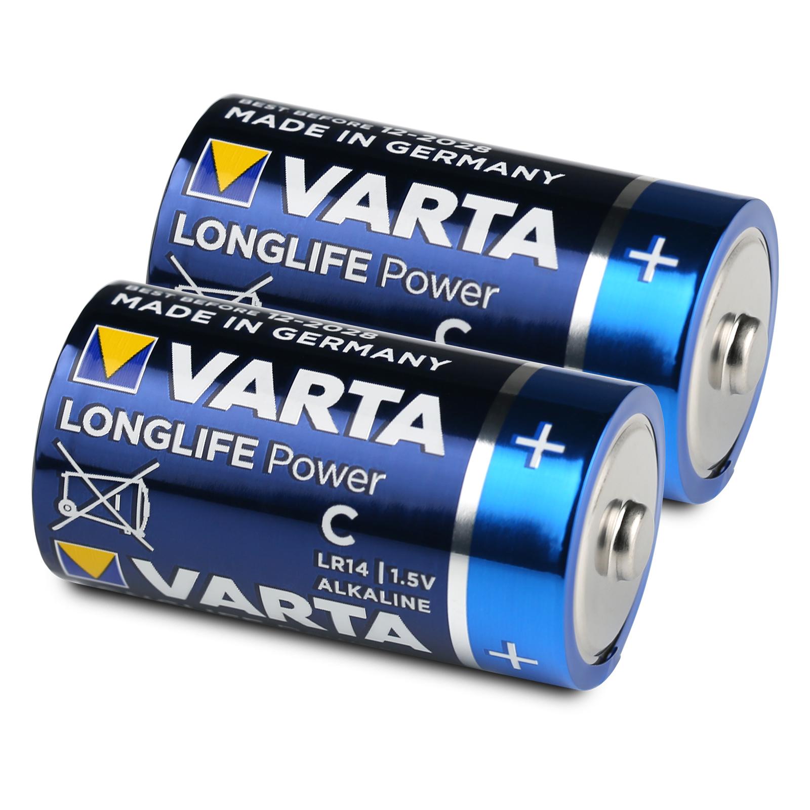 HighEnergy 4914 Baby C Alkaline LR14 1,5V Batterie Bl 6 x Varta Longlife Power